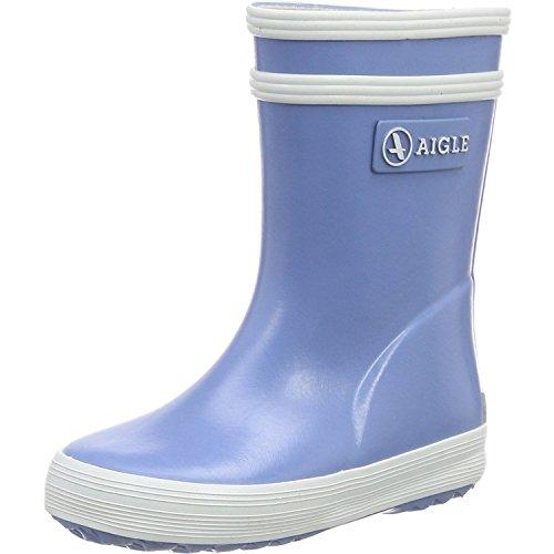Aigle Unisex-Kinder Baby Flac Gummistiefel, Blau (Bleu Ciel), 22 EU
