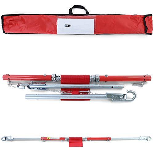 Tenzo-R 39598 PKW KFZ Auto Sicherheits Abschleppstange mit Dämpfer und Tasche 2T 1.8m gelb