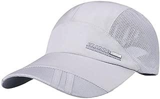 LENXH Outdoor Baseball Cap Fashion Sports Cap Quick-Drying Sunhat Sunscreen Mesh Cap Casual Sun Hat