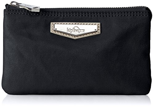 Kipling Creativity L - Portamonete Donna, Schwarz (Night Metal), One Size