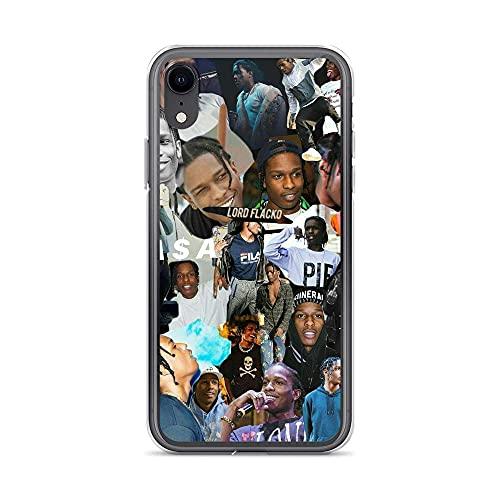 Phone Custodia Case Cover Compatibile iPhone 6 Plus /6s Plus Case ASAP Rocky Rapper Art Hiphop Music Pure Clear