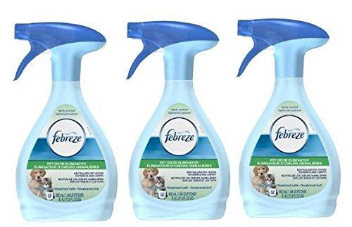 3 Pk, Febreze Fabric Refresher Pet Odor Eliminator Air Freshener (27...