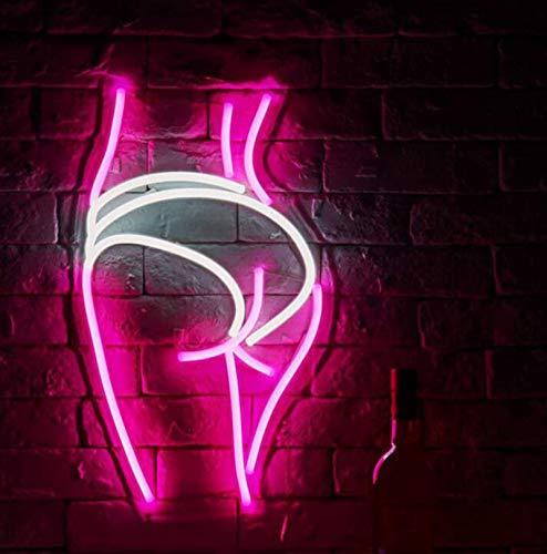 DKZ LED Neon Backboard Und Hüften, Acryl-Rückwand Licht, Verwendet Für Partybedarf, Mädchen-Raumdekoration, Sommerpartys, Kinder