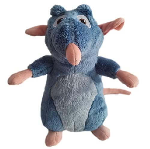 agzhu 30Cm Anime película Ratatouille Remy Mouse muñeco de Peluche Suave Animales de Peluche muñeco de Peluche Juguetes para niños