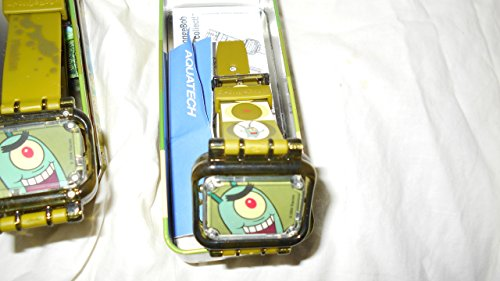 SpongeBob SquarePants THE MOVIE 'PLANKTON' 2004 Burger King Paramount Studios Reversible Watch-NEW in Sealed Illustrated Tin