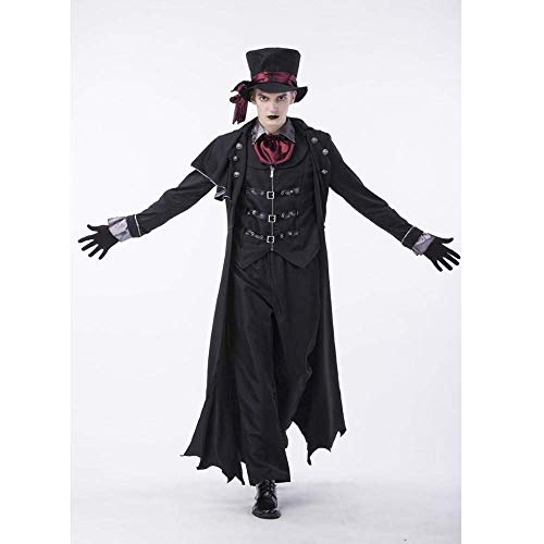 PIN Costumi di Halloween Donna Coppia di Halloween Cosplay Costume da vampiro Cosplay Coppia Dress up,B