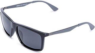 نظارة شمسية من تي اف ال للرجال مقاس 58 ملم - اسود