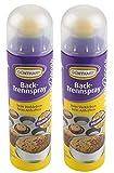 Günthart Backtrennspray | Backspray | Trennspray | Doppelpack | Spray zum Einfetten von Formen, Bleche, Waffeleisen | sehr ergiebig | einfach in der Anwendung | 2x200 ml | OHNE Palmöl