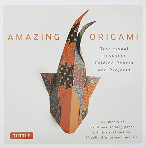 Product Image of the Amazing Origami Kit: Traditional Japanese Folding Papers and Projects [144...