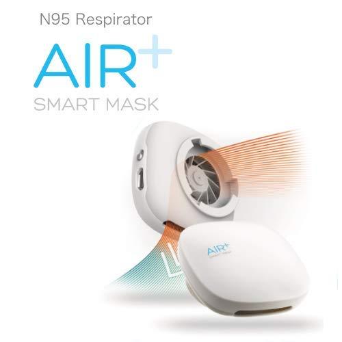 息が苦しくない医療用N95マスク「AIR+(エアプラス)」 (専用マイクロベンチレーター)