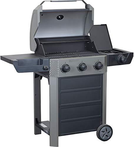 Primaster Gasgrill Atlanta 300 mit Seitenkocher Grillwagen Grillstation Barbecue