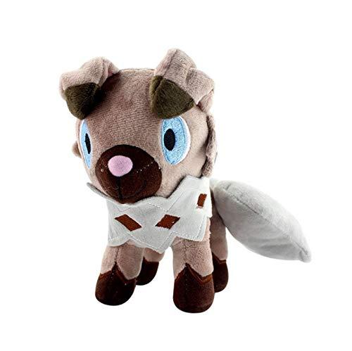 Zpong Pokémon Mane Rock Hombre Lobo Initial Rock Dog Doll Pokémon Alora Rock Dog 20Cm