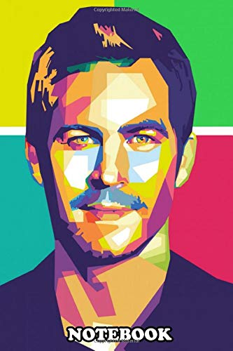 Notebook: Paul Walker In Wpap , Journal for Writing, College Ruled Size 6' x 9', 110 Pages