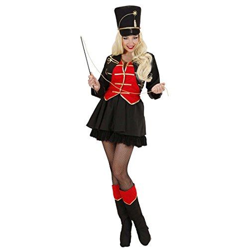 Amakando Dompteur Zirkuskostüm Zirkus Damenkostüm M 38/40 Dompteurin Zirkusuniform Zirkusdirektorin Kostüm Karnevalskostüme Frauen Sexy Faschingskostüm Löwenbändiger Jahrmarkt Damen Uniform