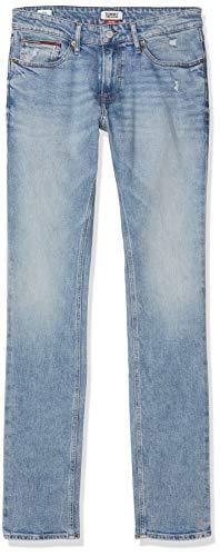 Tommy Hilfiger Hombre SCANTON HERITAGE DLSLT Straight Jeans, Azul (Dallas Lt Bl Com 911), W29/L36