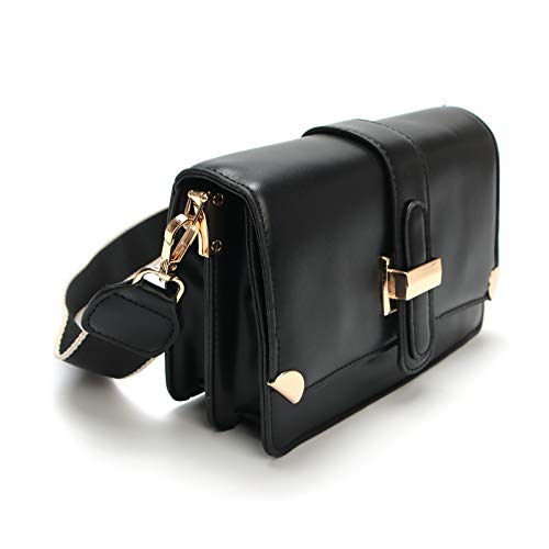 Damen Mehrzweck-Handtaschen mit Reißverschluss, kleine Doppelfächer, Umhängetasche, Geldbörse, Handtasche