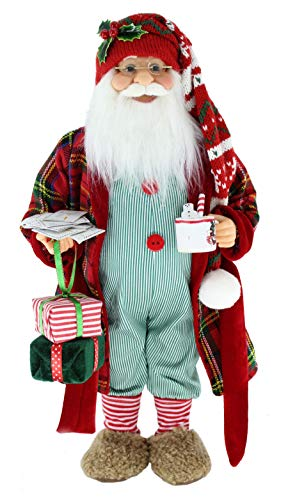 """16"""" Inch Standing Sweet Dreams Sleepy Letters to Santa Claus Christmas Figurine Figure Decoration 169170"""
