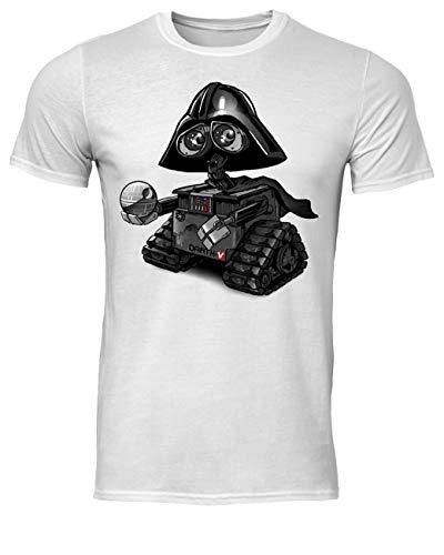 AMIROSSI Wall-E Darth Vader Camiseta