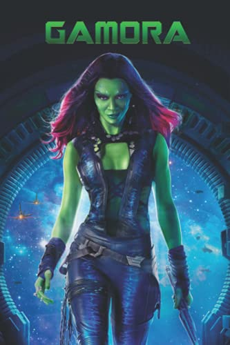 Gamora Notebook: - 6 x 9 inches with 110 pages