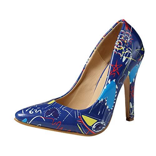 Chaussures à Talons Hauts Femmes, Manadlian Chaussures Pointues Sauvages Pointues pour Dames Escarpins Femmes Été Chaussure Stiletto Single Sandales à Talons Hauts