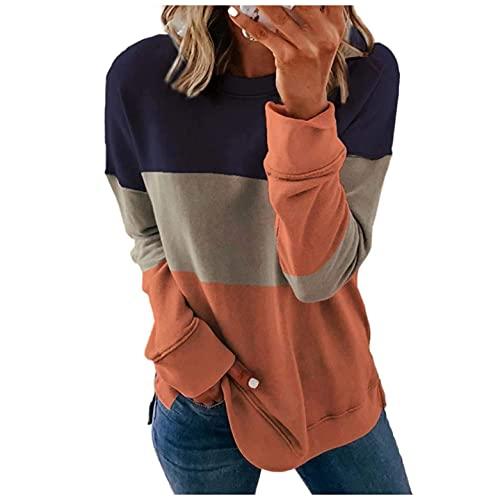Masbird Halloween Costumes for Women,Fall Womens Long Sleeve Knit Sweater Zip Up Hoodie Jacket Lightweight Drawstring Color Block Sweatshirt