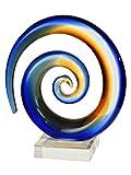 Dale Tiffany Favrile Art Glass Collection Sculpture/Figurine, Multicolor