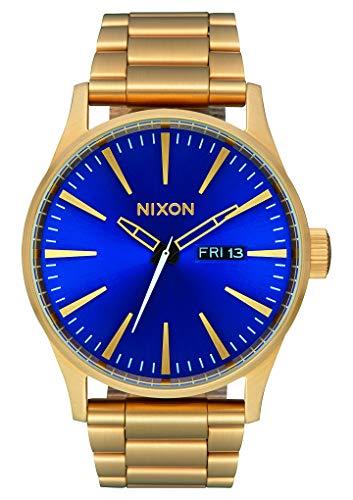 Nixon Reloj Analógico para Hombre de Cuarzo con Correa en Acero Inoxidable A356-2735-00