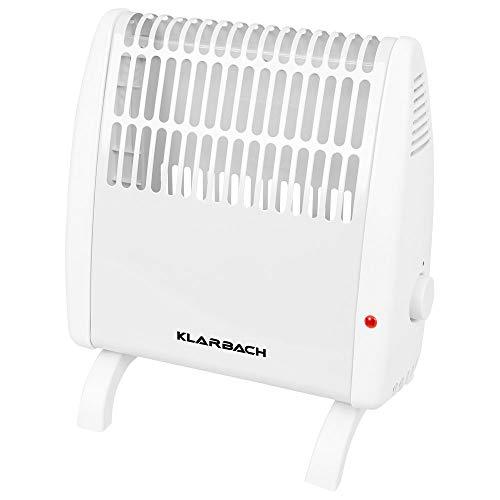 Klarbach Konvektor HK 34523 we | Frostwächter-Funktion | Überhitzungsschutz | 2 Heizstufen | einstellbares Thermostat | 450 Watt | Tragegriff | Kontrollleuchte | geräuscharm | Standfüße | elektrisches