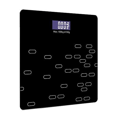 YLOVOW Básculas De Grasa Corporal, Básculas De Baño Digitales De Alta Precisión Báscula Inteligente
