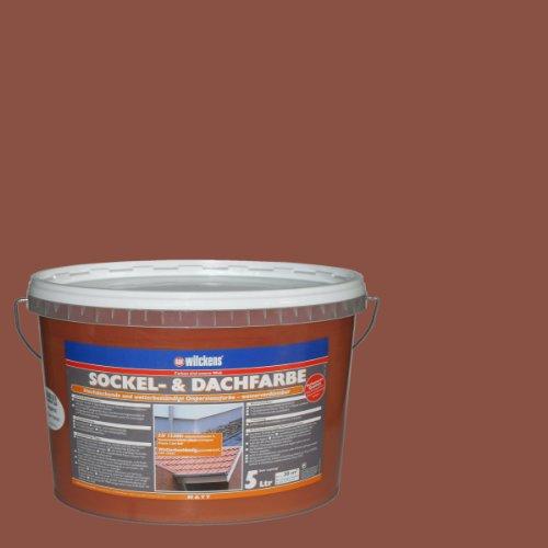 Wilckens Sockel- & Dachfarbe Ziegelrot 5 Liter