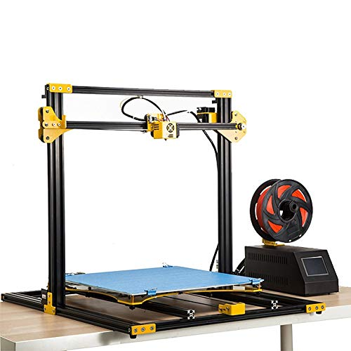 SHENLIJUAN Large Printing Size S3 Metal 3D Printer DIY Kit 420x420x400 for 3D Printing Self-assembly Maker