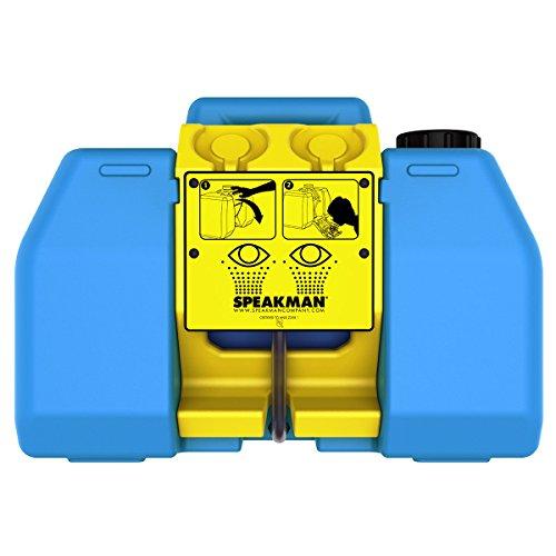 Speakman SE-4400 GravityFlo 9-Gallon Portable Emergency Eyewash , Blue