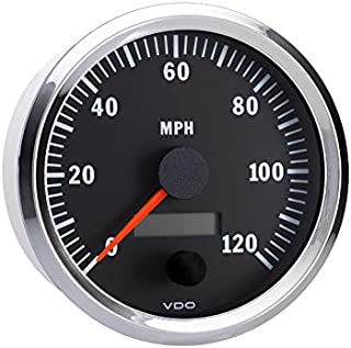 Vdo Instruments Semi Truck Electrical Programmable Speedometer Gauge Vision Chrome