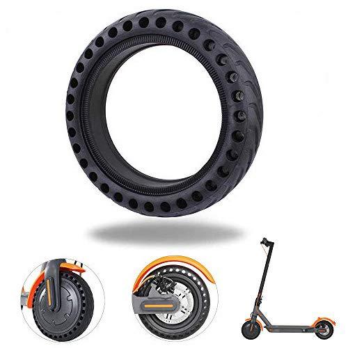 AEUWIER Neumático de Scooter eléctrico, Rueda de Repuesto de neumático antipinchazos Neumático de Repuesto Antideslizante Inter/Exterior Honeycomb para Xiaomi M365 Scooter eléctrico