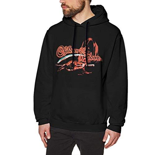 Introver Children of Bodom Men's Hoodie Sweatshirt Heavyweight Casual Long Sleeve Tshirt,XX-Large