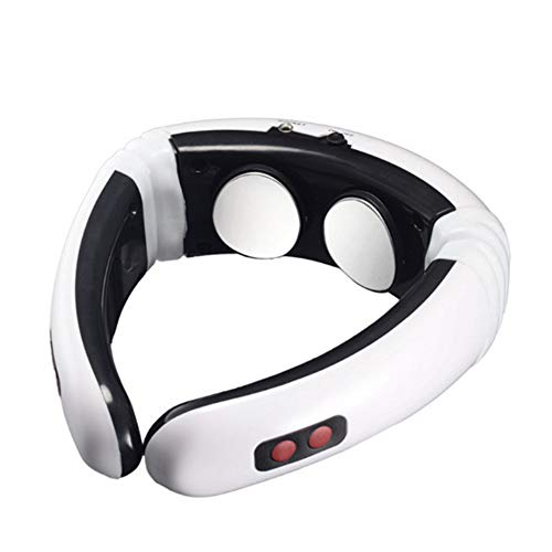 Neck massager, electric 6-mode infrared heating direct health care neck massager, suitable for home office outdoor