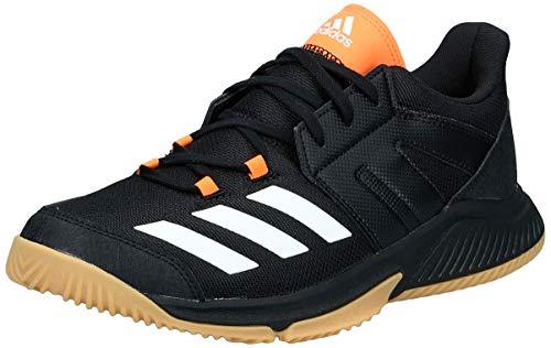 adidas Essence, Zapatillas de Balonmano para Hombre, Negro (Negbás/Ftwbla/Narsol 000), 47 1/3 EU