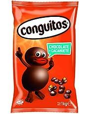 Conguitos, Fruto seco cubierto de chocolate - 4 de 1000 gr. (Total 4000 gr.)
