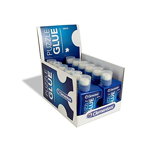 Clementoni 37000–Adhesivo de piezas de puzzle accesorios, 200 ml