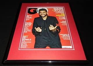 The Weeknd Framed ORIGINAL 2017 GQ Magazine Cover