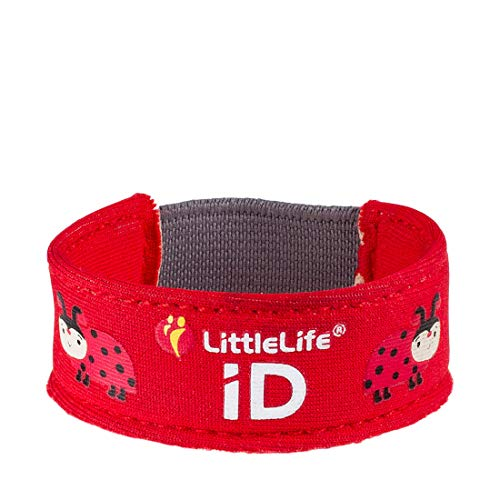 LittleLife Safety iD Strap Identification Unisexe Bébés, Ladybird Design, taille unique
