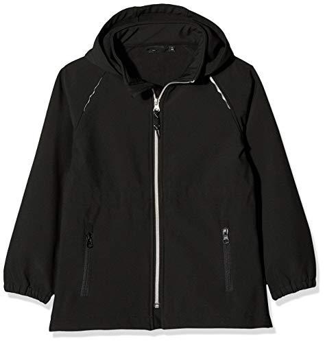 Name IT NOS Mädchen Jacke NKFALFA SEMILONG Jacket NOOS, Schwarz (Black), (Herstellergröße: 134)