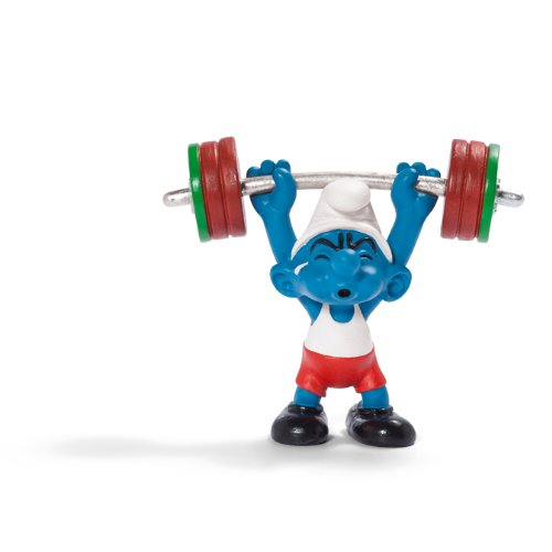 SCHLEICH 20737 - Gewichtheber