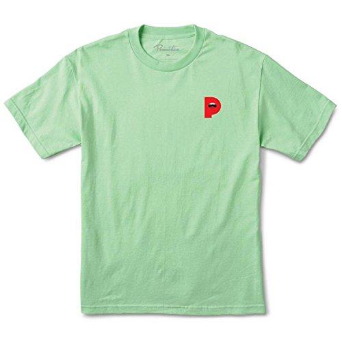 Primitive Lips T-Shirt Mint M