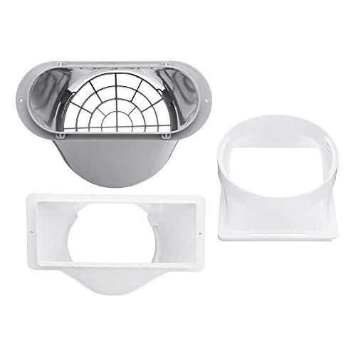 ZOYOSI Conector de tubo de escape portátil de 130/150/179 mm, compatible con adaptador de ventana de aire acondicionado, 130 mm