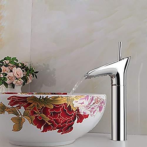 Fregadero grifos de lavabo grifo Válvula de cerámica de recipiente moderno Mango...