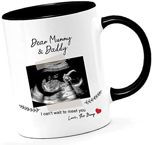 Mummy/Daddy - Taza personalizable para baby shower, regalo para mamá y papá