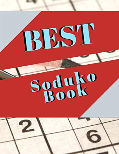 Best Soduko Book: Extremely Difficult Suduko Books,Presents Suduko Pocket Size, Adult Activity Book An Adult Activity Book, Suduko, Hard adult activity book games puzzles and more...