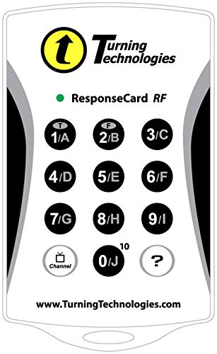 Turning Technologies Response Card RF Clicker