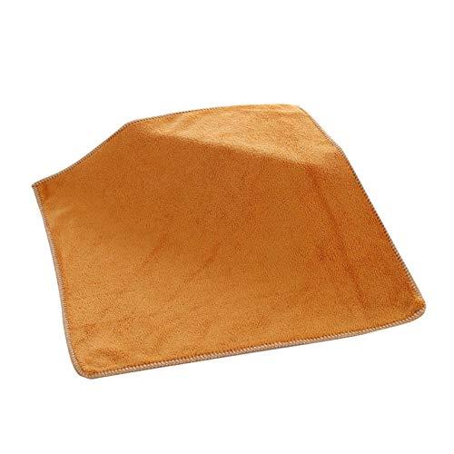 Paño de microfibra para coche, 30 x 30 cm, con gancho grueso, para cocina, absorbente de aceite, para limpiar el coche